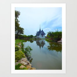 A Thai Palace Art Print