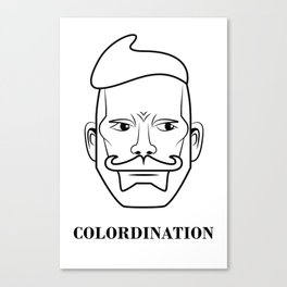 Nick Wooster - Colordination Canvas Print