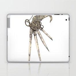 Scissorhands (Sepia-L) Laptop & iPad Skin