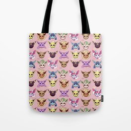 Eeveelutions Pink Tote Bag
