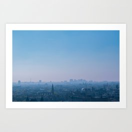 Above Amsterdam Art Print