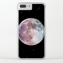 moon child Clear iPhone Case