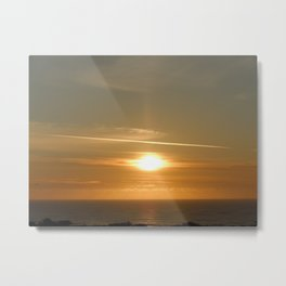 California Beachin' Metal Print