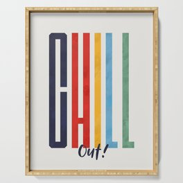 CHILL OUT! modern type Serving Tray