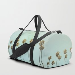 Full Moon Paradiese Beach Palm Trees Duffle Bag
