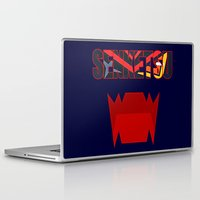 kill la kill Laptop & iPad Skins featuring Senketsu - Kill La Kill by feimyconcepts05