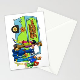 The X-Gang Stationery Cards