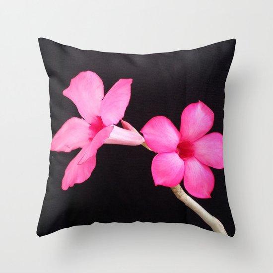 LOVE IS A PAIR Throw Pillow