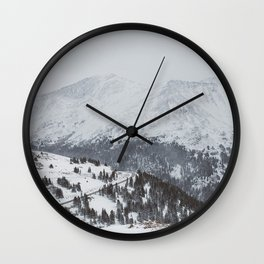 Independence Pass II Wall Clock