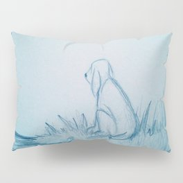 Lonely Dog Pillow Sham