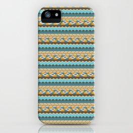 navajo pattern 3 iPhone Case