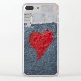 Brooklyn Love Clear iPhone Case