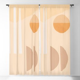 Geometric Abstract 78 Blackout Curtain