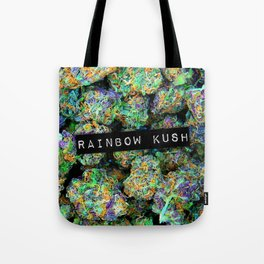 Rainbow Kush Tote Bag