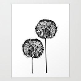Dark seed Art Print