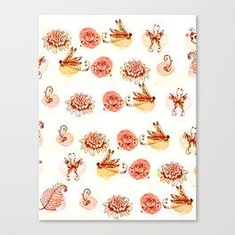 garden pattern Canvas Print