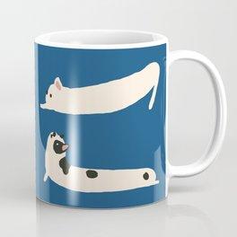 Stretching French Bulldog Coffee Mug