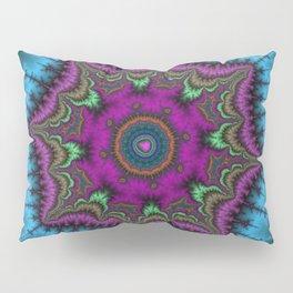 Fractal Shield Pillow Sham