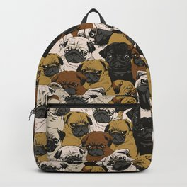 Social Pugs Backpack