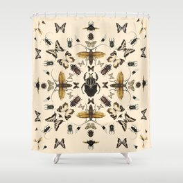 Insects 01 Shower Curtain