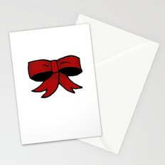Red Bow Stationery Cards