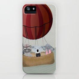 the littlest adventure iPhone Case