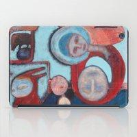 madonna iPad Cases featuring Madonna de la Cabeza by cathie joy young