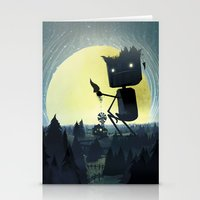 giants Stationery Cards featuring Hill Giants by GlennPorterArt