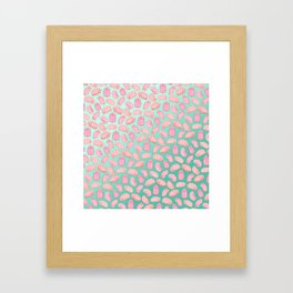 Squishy Tardigrades Framed Art Print
