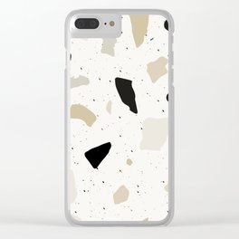 Terrazzo Clear iPhone Case