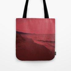 Dreamscape red Tote Bag