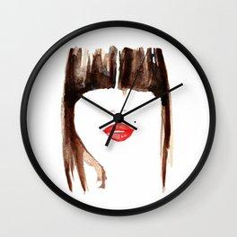 Bangin Lips Wall Clock