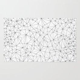 Geometric Line Art Design Rug