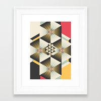 la Framed Art Prints featuring La Plus by Danny Ivan