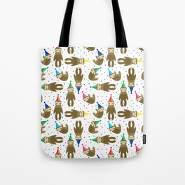 Party Sloth Tote Bag