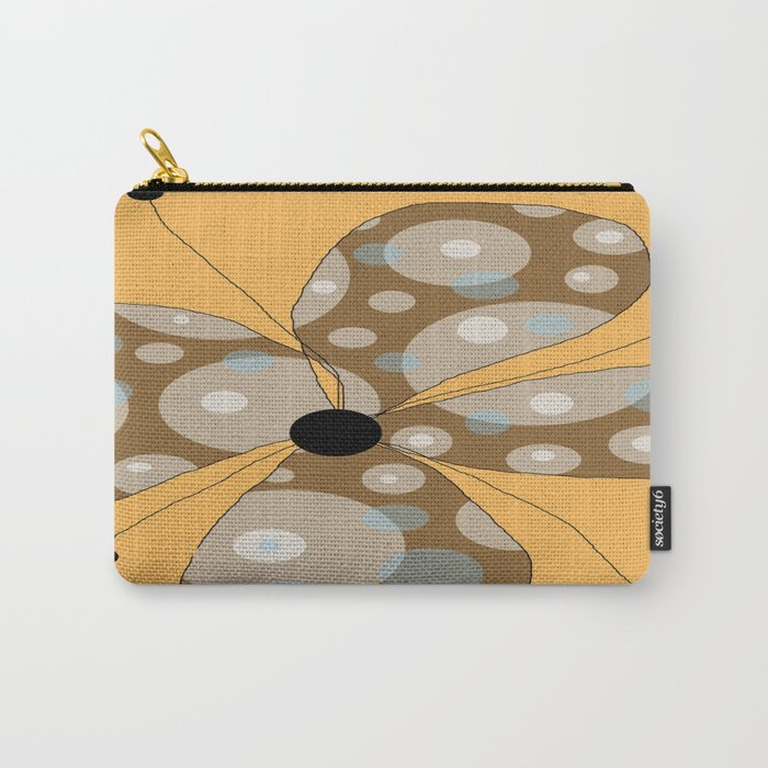 FLOWERY  LILY / ORIGINAL DANISH DESIGN bykazandholly Carry-All Pouch