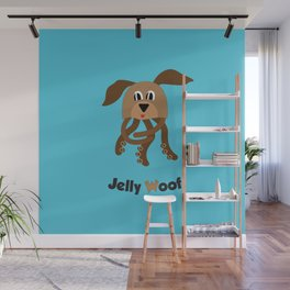 Jelly Woof Wall Mural