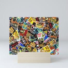 50s Movie Poster Collage #14 Mini Art Print
