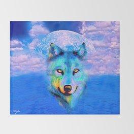 WOLF #2 Throw Blanket