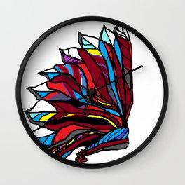 Native American Head-dress Wall Clock