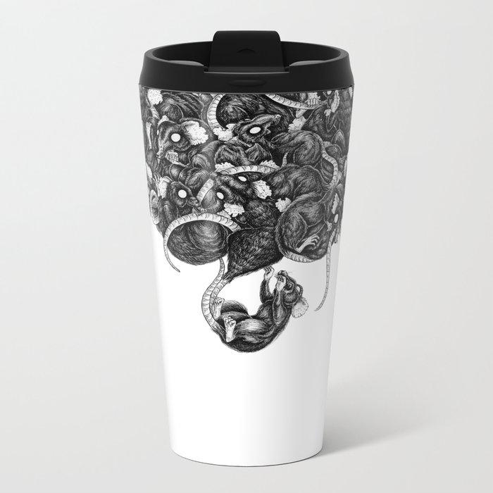 Rats Metal Travel Mug