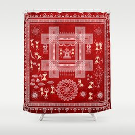 Diwali, the Festival of Lights Shower Curtain