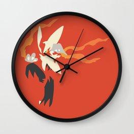 Mega Blaziken PKMN Wall Clock