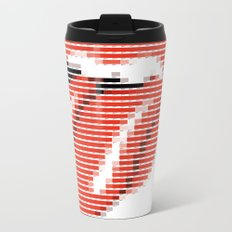 Pantone as pixel Rolling Metal Travel Mug
