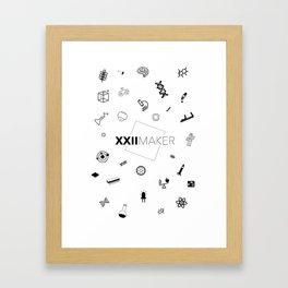 XXIIMAKER Framed Art Print