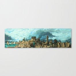 Ancient World Metropolis Canvas Print