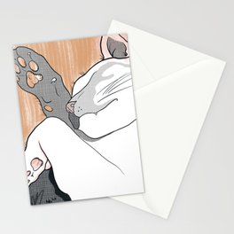 Napping Cat Stationery Cards