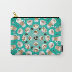 Coffee Kaleidoscope Carry-All Pouch