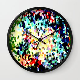 Crystallize 8 Wall Clock
