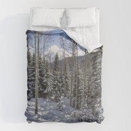 Winter forest - Carol Highsmith Comforters